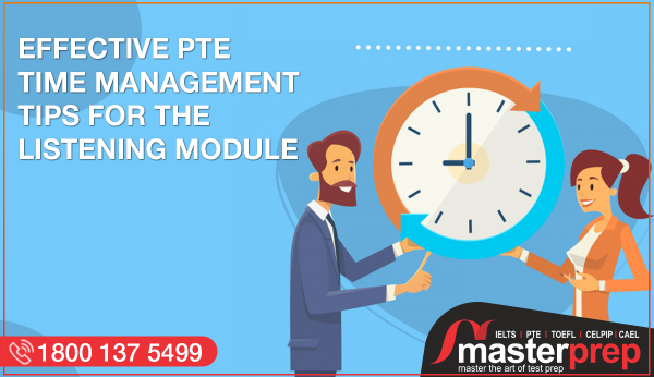 Effective PTE Time Management Tips for the listening module
