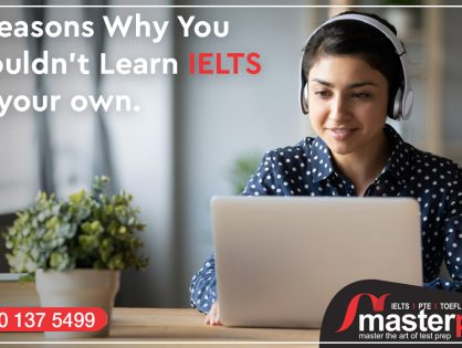 5 Reasons Why You Shouldn't Learn IELTS on Your own.